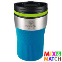 Promotional Bayamo Mix & Match Travel Mugs Engraved with your Logo by Total Merchandise