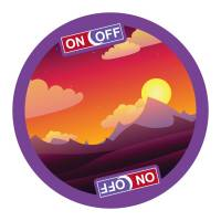 Promotional Lenticular Coasters in White printed with full colour design by Total Merchandise