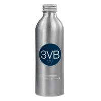 Promotional Eco Aluminium Bottled Water in silver with printed label by Total Merchandise