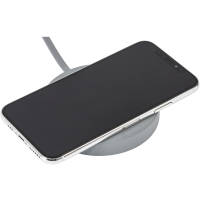 Custom Printed Denton Wireless Charging Stations in Grey with Phone Charging from Total Merchandise