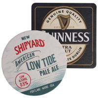Promotional Beer Mat Coasters Printed in the UK with Company Logos by Total Merchandise