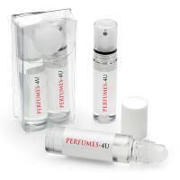 Promotional 2-Piece Relaxation Sets in Clear Printed with Full Colour Labels by Total Merchandise