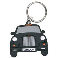 Bespoke Shaped Branded PVC Keyrings for Advertising