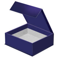 Opened Flip Lid Promotional Gift Boxes Printed in the UK by Total Merchandise