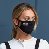 Black Double Layer Reusable Face Mask