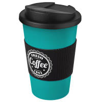 Promotional Spill-Proof Americano Reusable Coffee Cups Printed with a Logo by Total Merchandise