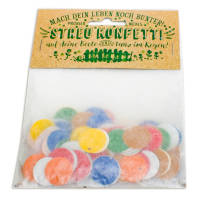 Promotional Seed Paper Confetti Packets Printed with a Logo from Total Merchandise