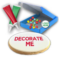 Promotional Shortbread Biscuit Decorating Kit with a Printed Logo from Total Merchandise
