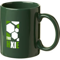 Custom Printed Santos Mugs in Green Branded with a Logo by Total Merchandise
