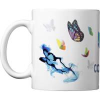 Full Colour Sublimation Mug in White