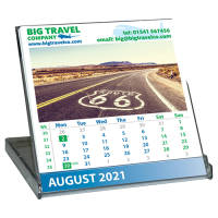 Printed Micro CD Case Calendars From Total Merchandise