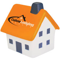 Promotional Stress House with Chimney for Company Merchandise