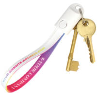Branded 2 in 1 USB Keyring Strap Cables for Company Gifts