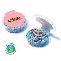 Promotional Midi Millions Eco Pots with marketing logos