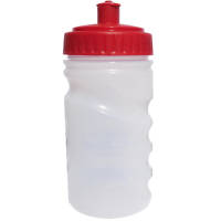 Branded Finger Grip Sports Bottles 300ml for events