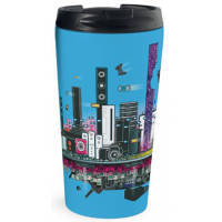 Promotional Rio Full Colour Travel Mugs for Business Gifts