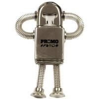 USB Metal Robot Flashdrives in Silver