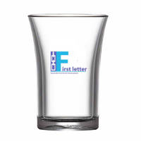 Promotional 35ml Reusable Plastic Shot Glasses for Events
