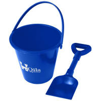 Bucket and Spade in Blue