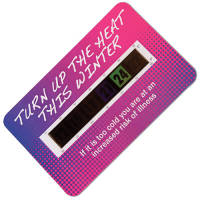 Branded Temperature Gauge Cards
