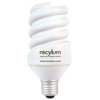 Promotional Stress Energy Saving Light Bulb for with a printed company logo on the side