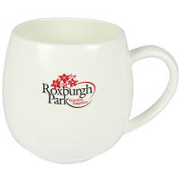 Bone China Hug Mugs in White