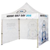 3m x 3m Gazebo with Walls