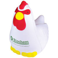 Promotional Stress Chicken for Campaign Advertising