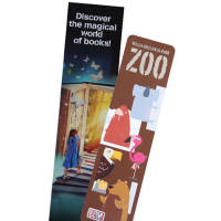 Personalised Laminated Card Bookmark printed with your design in full colour from Total Merchandise