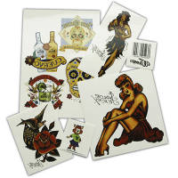 Custom Printed Temporary Tattoos  with company design