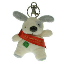 Keychain Dog in Cream