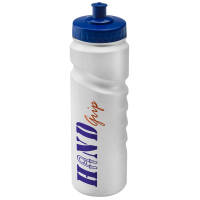 Printed Finger Grip Sports Bottles 750ml for sports gifts