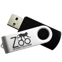 Custom branded 8GB Express Twist USB Flashdrives