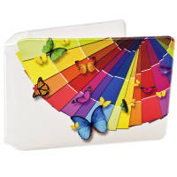Promotional Oyster Card Travel Wallets in White with Full Colour Print by Total Merchandise