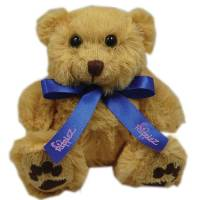 Personalised 5 Inch Dexter Bear With Bow for Event Giveaways