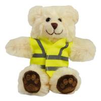 Promotional 5 Inch Reflective Jacket Bears for Childrens Merchandise