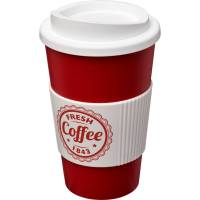 Promotional Americano Colour Mugs with Grip Printed with your Logo from Total Merchandise