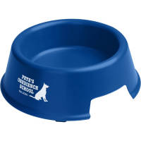 Custom branded Pet Food Bowls with a logo printed to 1 side from Total Merchandise