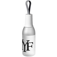 650ml Flow Drinks Bottles in Frosted Clear/White