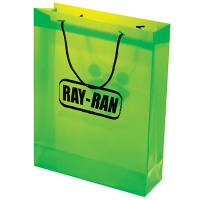 Large Polypropylene Gift Bags in Green