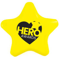 Promotional Stress Stars for Campaign Giveaways