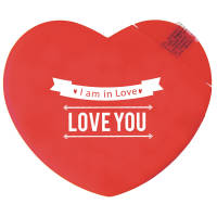 Promotional Heart Shaped Mint Cards for Event Gifts
