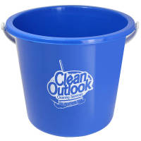 Promotional 10 Litre Buckets in blue from Total Merchandise