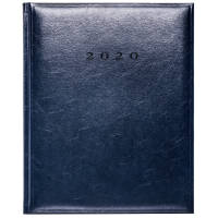 Branded Colombia Quarto Weekly Diaries for office merchandise in Blue