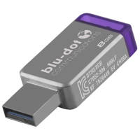 8GB Kingston DT50 USB Flashdrives in Silver
