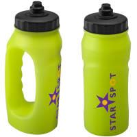 Glow in the Dark Jogging Bottles in Glow Yellow