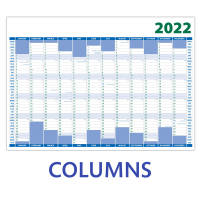 Promotional A1 Wall Planners with columns layout from Total Merchandise