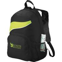 Tornado Backpacks in Black/Lime