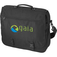 Black printed exhibition bag with your logo from Total Merchandise