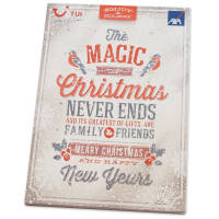 Branded Traditional A4 Advent Calendars Printed with your Company Logo from Total Merchandise